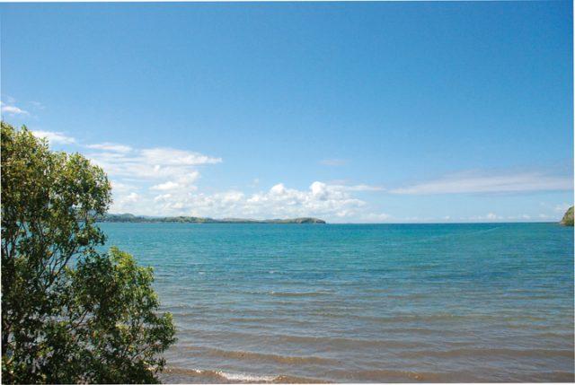 パプアニューギニアの海