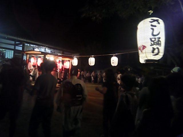 涌泉寺の盆踊り